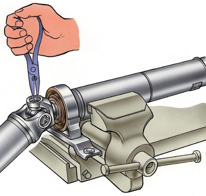 Ремонт карданных передач