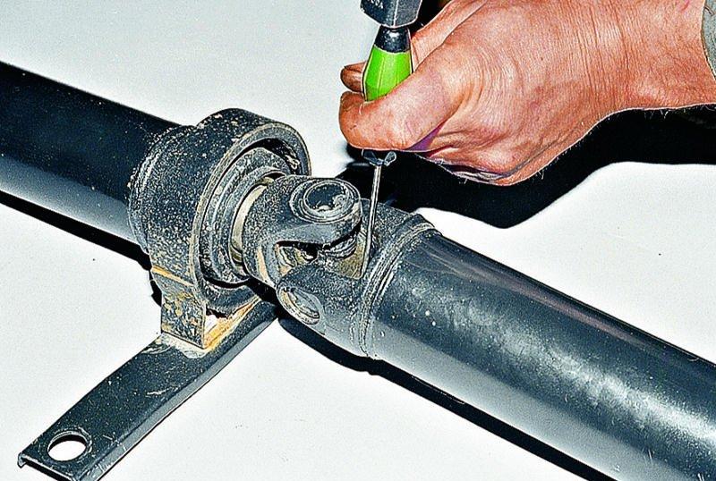Замена приварных элементов кардана